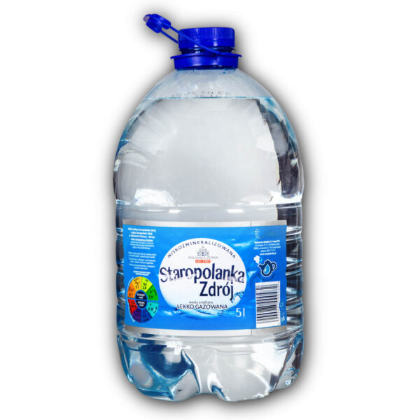 Woda Staropolanka zdrój 5l delikatnie gazowana