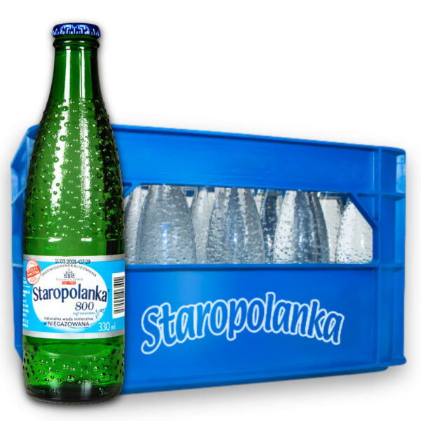 Woda Staropolanka 0,3L niegazowana skrzynka