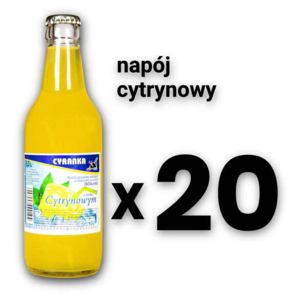 Cyranka 0,33L napój cytrynowy