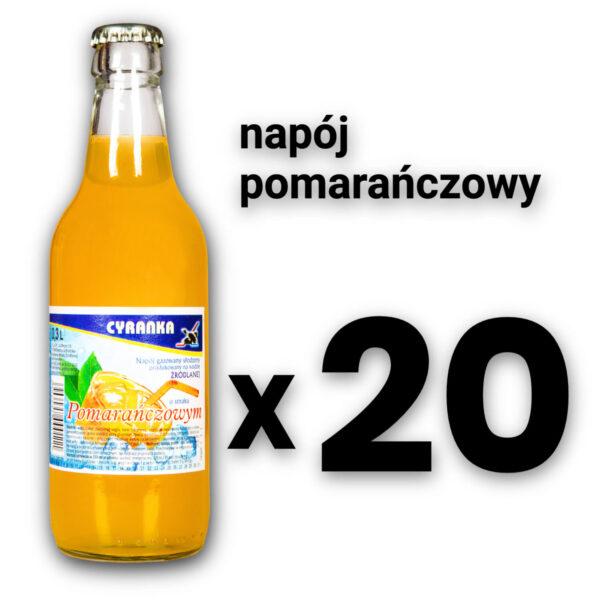 Cyranka 0,33L napój pomarańczowy