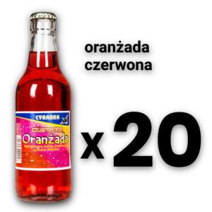 Cyranka 0,33L oranżada czerwona