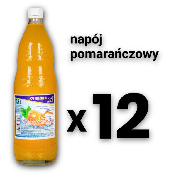 Cyranka 1,0L Napój Pomarańczowy