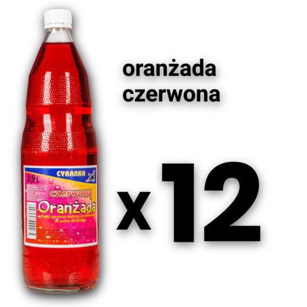 Cyranka 1,0L oranżada czerwona