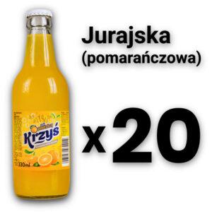 Jurajska 0,33 pomarańczowa