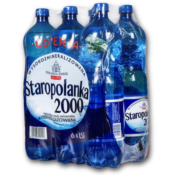 Staropolanka 2000 1,5L delikatnie gazowana