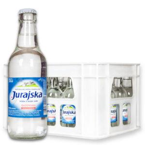 Woda Jurajska 0,33L gazowana skrzynka