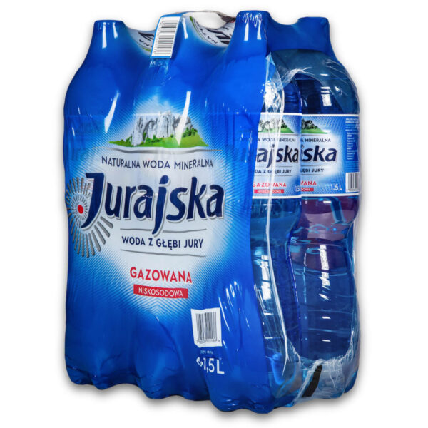 Woda Jurajska 1,5L gazowana