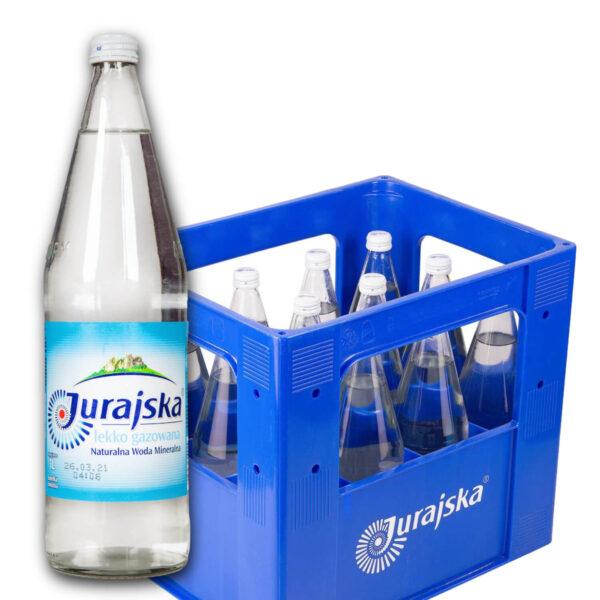 Woda Jurajska 1L delikatnie gazowana skrzynka
