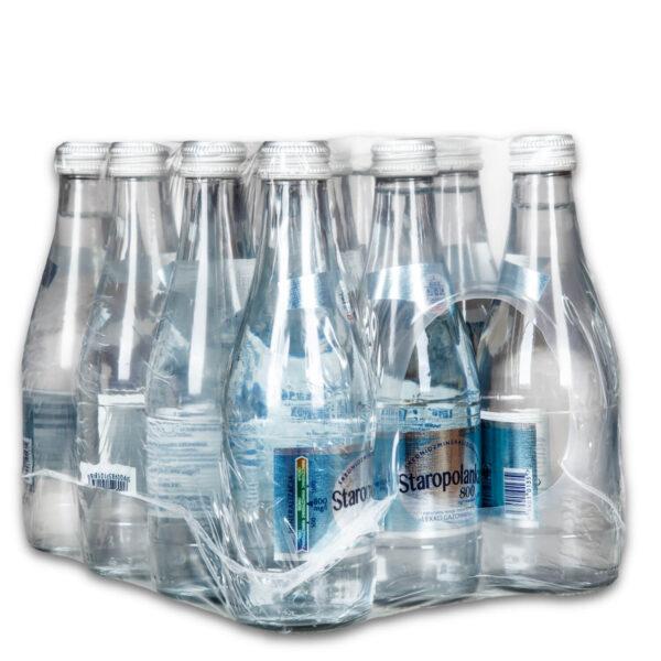 Woda Staropolanka 12x0,33L delikatnie gazowana bezzwrotna
