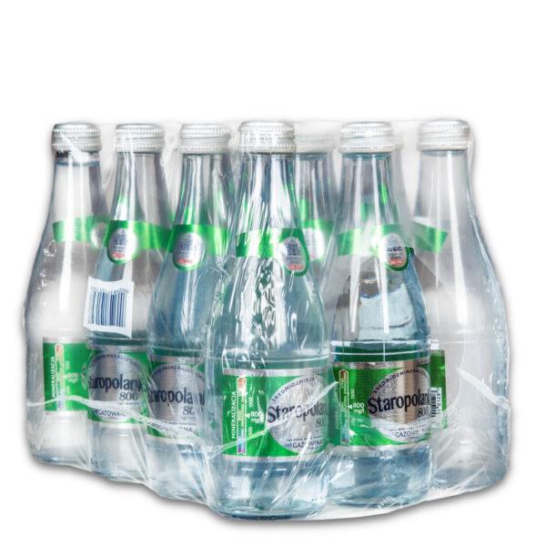 Woda Staropolanka 12x0,33L gazowana bezzwrotna