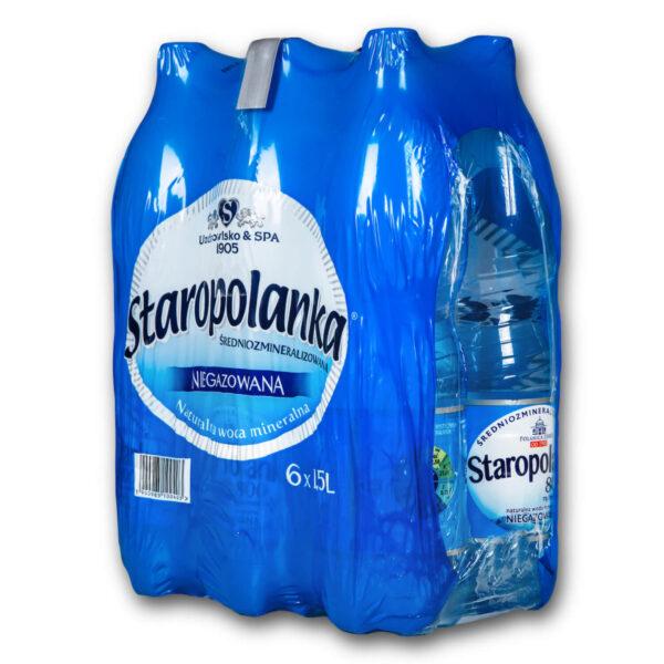 Woda Staropolanka 1,5 niegazowana