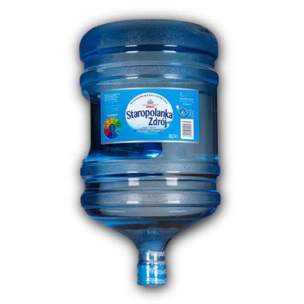 Woda Staropolanka zdrój 18,9l delikatnie gazowana