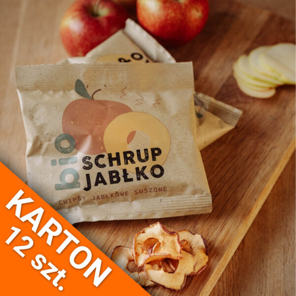 Owocowe Smaki Schrup jabłko KARTON (12 szt.)