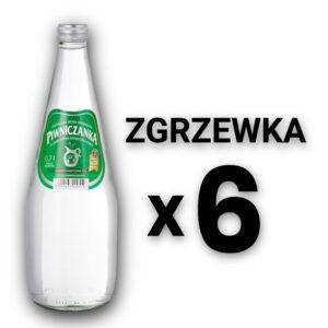 Piwniczanka zgrzewka 0,7 l lekkogazowana (średnionasycona CO2)
