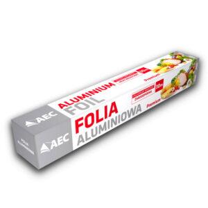 folia aluminiowa 30m AEC